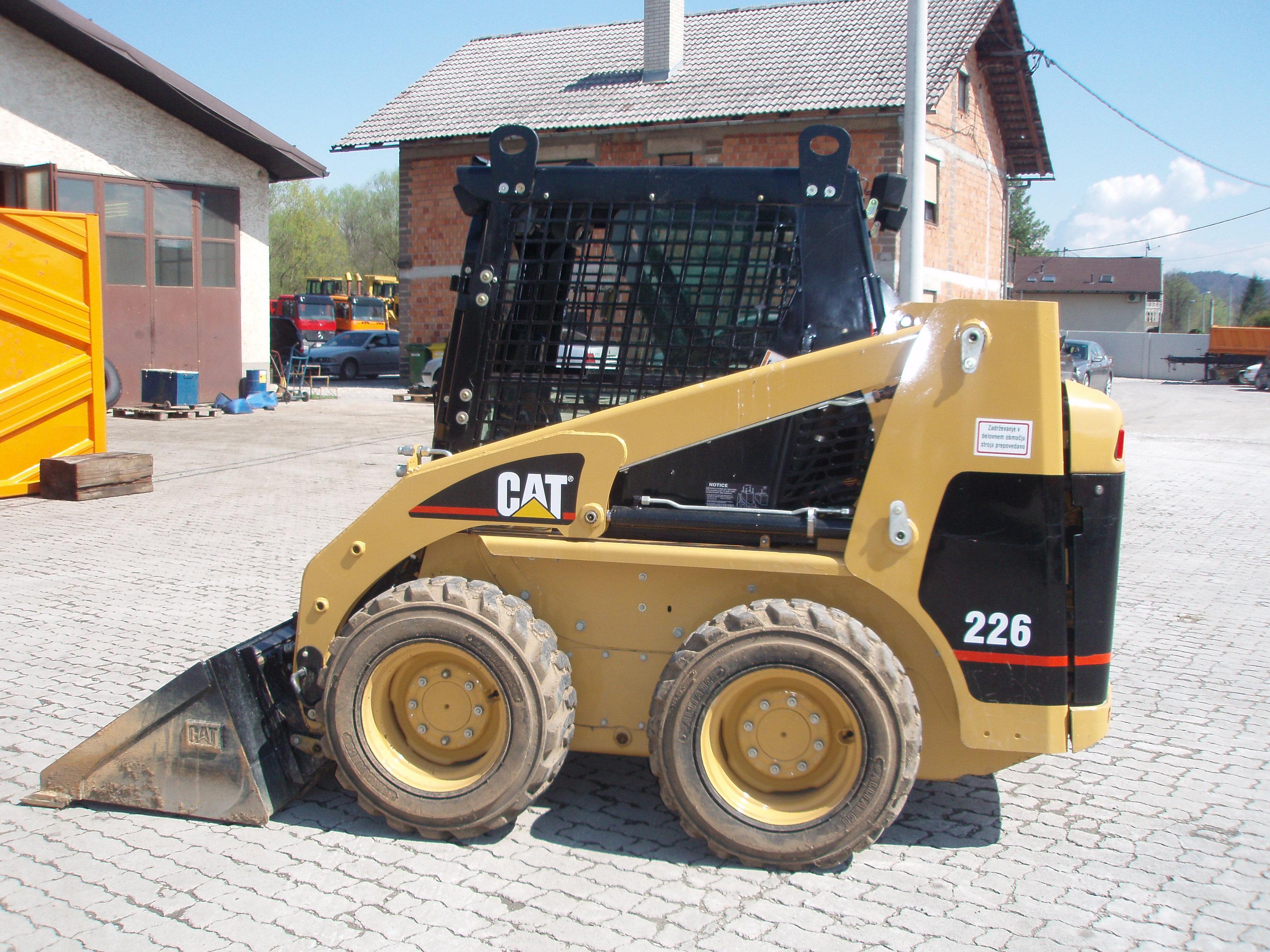 Cat Skid Steer : Caterpillar skid steer loaders b sold we sell